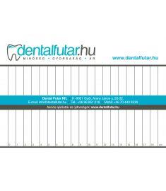 Keverőblokk nagy 15 x 21 cm, 50 lap Dental Futár